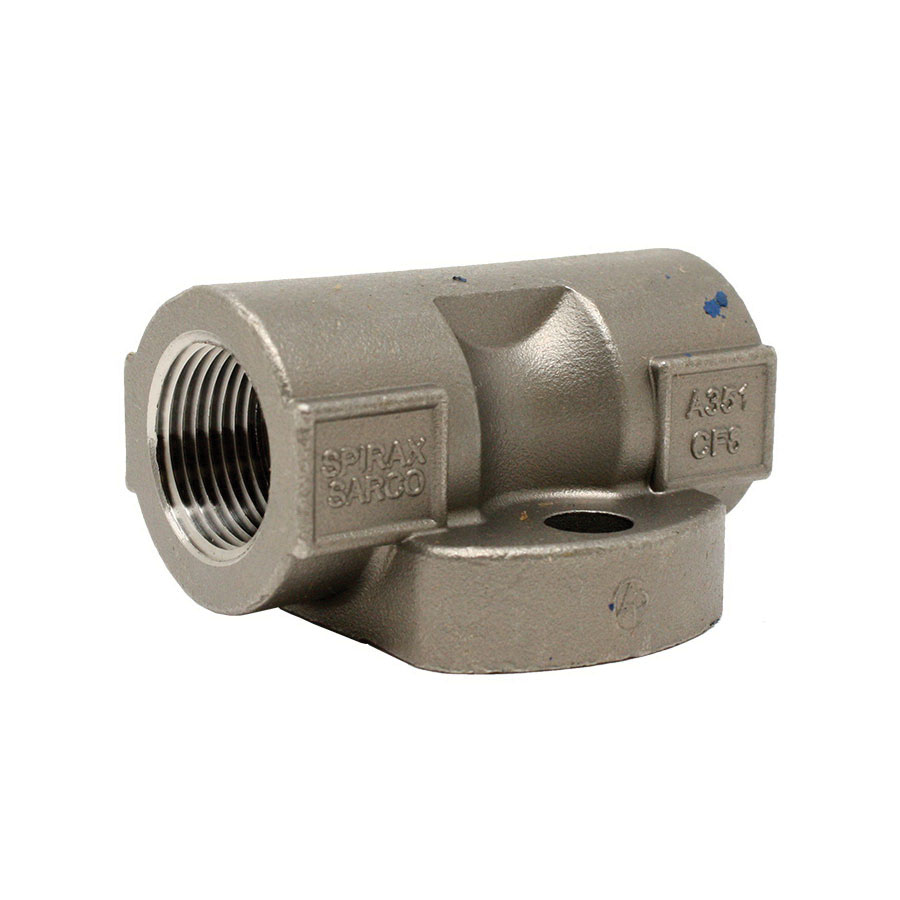 Spirax Sarco 66178 Stainless Steel Standard Universal Connector for UTD52L/UBP30LC Thermodynamic Steam Trap, 1/2 in, NPT