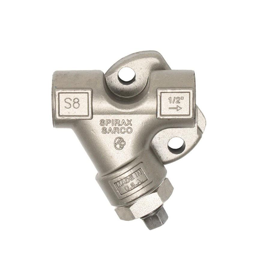 Spirax Sarco 67974 Stainless Steel Strainer Connector, 1/2 in, FNPT
