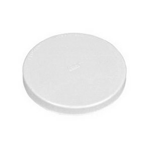 Test-Tite® Techno-Caps™ 87516 White PVC DWV Heavy Duty Test Cap, 6 in, Solvent Weld
