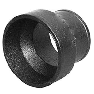 Tyler Pipe 009672 Cast Iron No-Hub Short Reducer, 3 in x 2 in