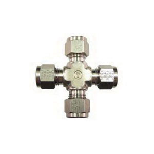 Tylok® 316 Stainless Steel Union Cross, Tube, Domestic