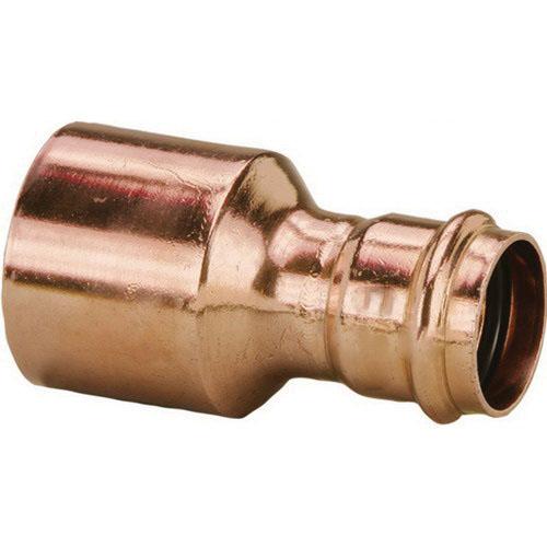Viega ProPress® XL-C 20758 Copper Reducer, 2-1/2 in x 2 in, Fitting x Press