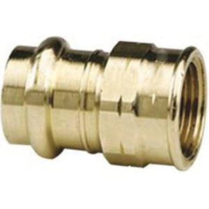 Viega ProPress® 79330 Bronze Adapter, 1 in x 1 in, Press x FNPT