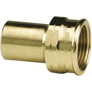 Viega ProPress® 79430 Bronze Street Adapter, 1/2 in x 1/2 in, Fitting x FNPT