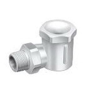 WhirlJet® 9360-3/8LBP-PP40-50W Polypropylene Standard Spray Nozzle, 3/8 in MNPT, 38.1 mm OD