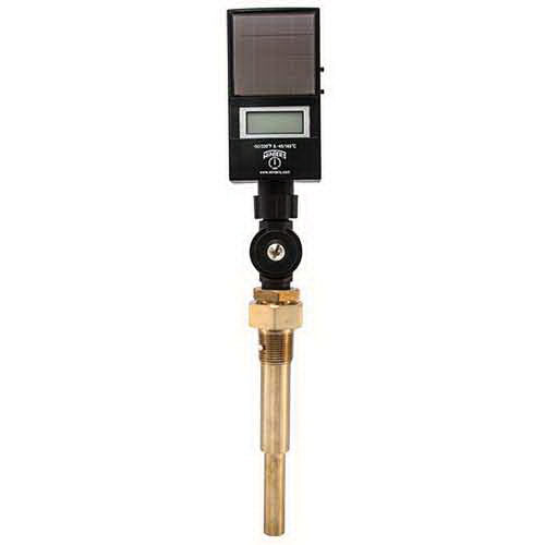 Winter TSD9ITSD ABS Industrial Solar Digital Thermometer, 3-1/2 in L Stem, -50 to 320 deg F