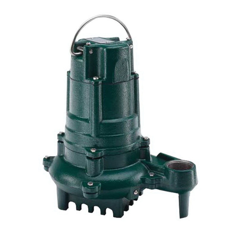 Zoeller® 137-0004 Epoxy Powder Coated Cast Iron 1-Phase Non-Automatic Effluent Pump, 93 gpm, 0.5 hp, 1725 rpm